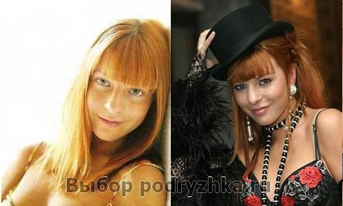 Наталья Подольская без макияжа