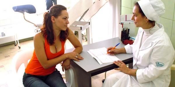 визит к гинекологу