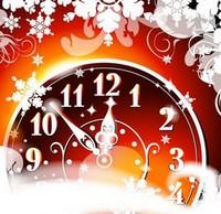 часы 12 бьют