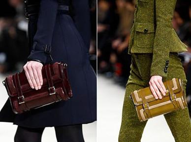 Свои модные сумки осень-зима 2011-2012 представил дизайнер Mark Jacobs.