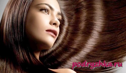 Как придать блеска волосам