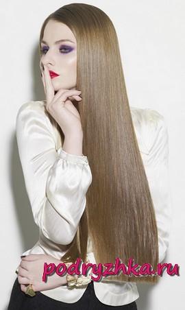 Саланые процедуры для блеска волос
