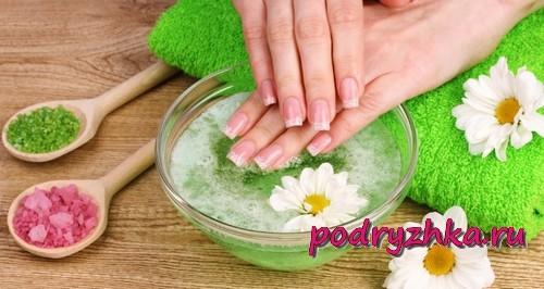 Ванны для кожи рук и ногтей