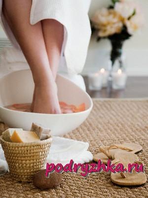 Молочные ванны для ног