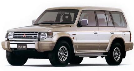 авто для женщин Mitsubishi Pajero