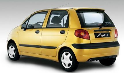 женские авто Daewoo Matiz