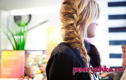 Варианты плетения кос