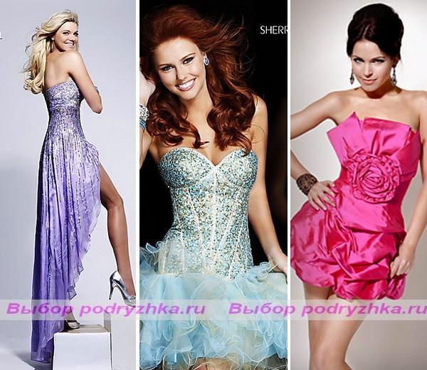 ...платья невесты стиле гангстеров. вечерние платья оксаны мухи 2012...