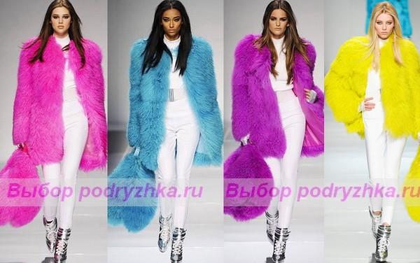 Описание: модные меховые шапки осень-зима 2012-2013 фото.