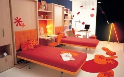 Детская комната для двоих детей – планировка, зонирование, дизайн