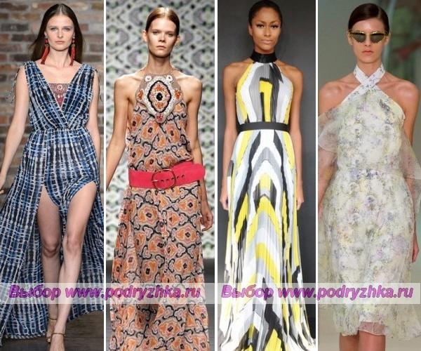 Модные сарафаны весна-лето 2013 года — фото
