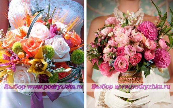 Свадебные букеты невесты 2013 года — фото