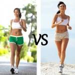 Что эффективней для похудения: ходьба или бег?
