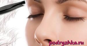 Как правильно выщипывать брови: «обрамляем» лицо