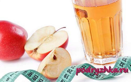 Отзывы о похудении на яблочном уксусе