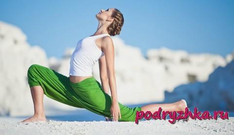 Упражнения для талии на растяжку