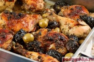 Курица по-испански для новогоднего меню 2015