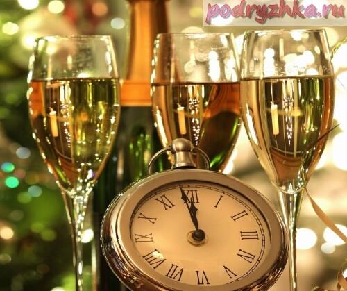 Напитки для новогоднего меню 2015