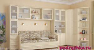 Модульная и встроенная мебель – способ экономии пространства