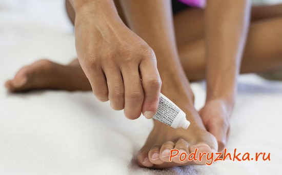 Мазь для ногтей ног