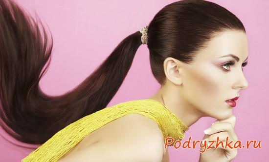 Прическа Конский хвост - 7 вариантов с видео-уроками