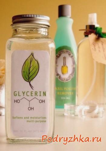 Глицерин в бутыльке