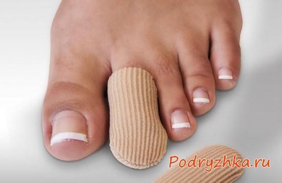 Чехол для пальца ноги