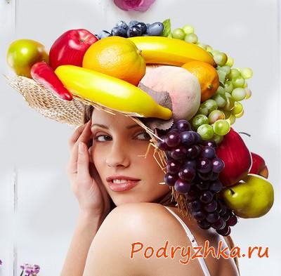 Маски для волос на основе продуктов питания