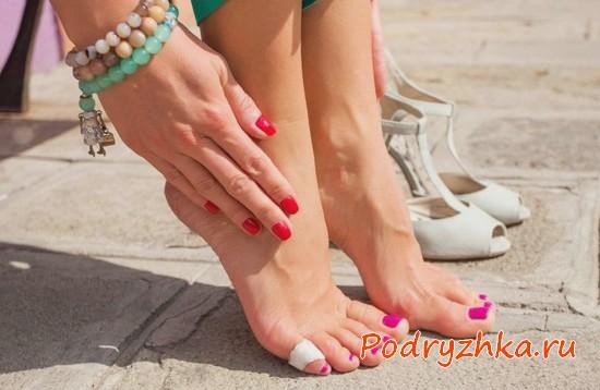 Лечение вросшего ногтя на большом пальце ноги в домашних условиях