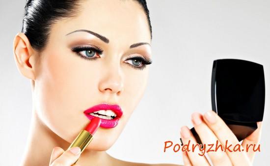 Как правильно красить губы - советы, теоретически рекомендации и видео-уроки